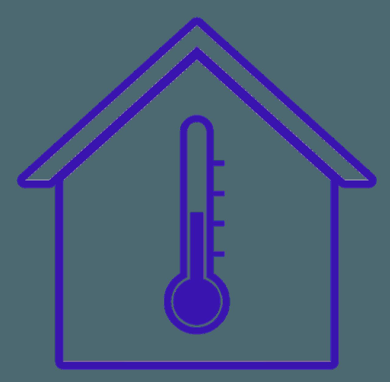 Isoliertes Haus mit angenehmer Wärme